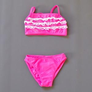lace pink bikini