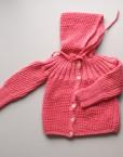 aunt jane baby coat coral