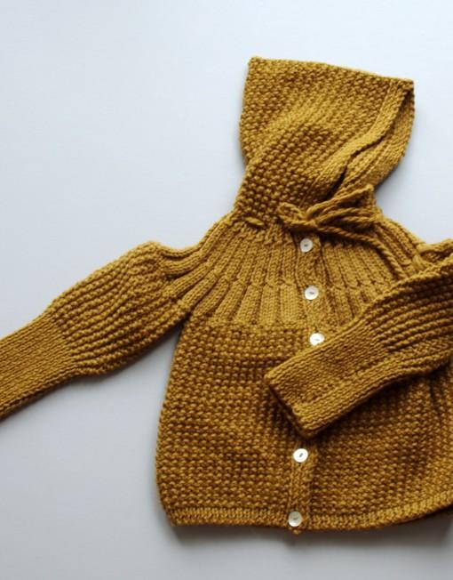 aunt jane baby coat caramel