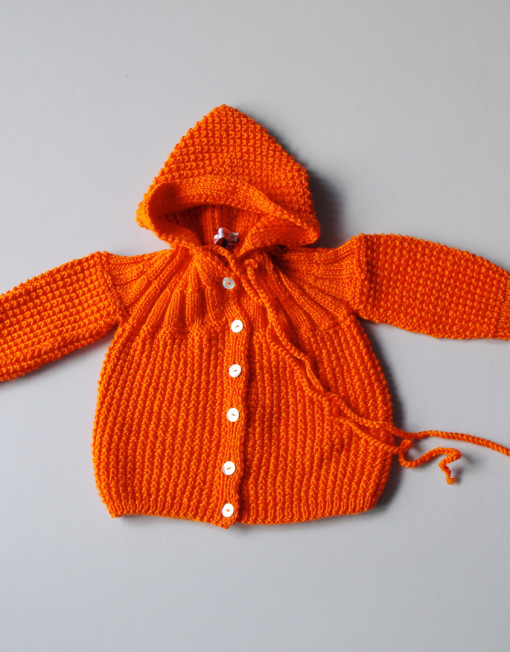 baby coat / pumpkin