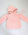baby coat / pastel pink