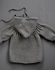 baby coat / stones grey