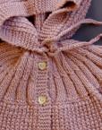 baby coat / vintage rose