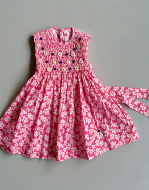 mini tiaré smock dress by coquito berlin