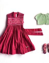 manavai smock dress by coquito
